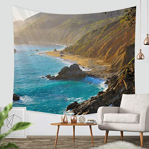 ZBLX Tapestry,Big Sur Wall Tapestry,Tapestry,Wall Art,Wall Hanging,Wall Hangings,Wall Tapestries (60