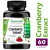 Cranberry Extract – Supports Urinary Tract Health, Stomach/Digestive Health, Circulatory Health – Emerald Laboratories (Fruitrients) – 60 Vegetable Capsules