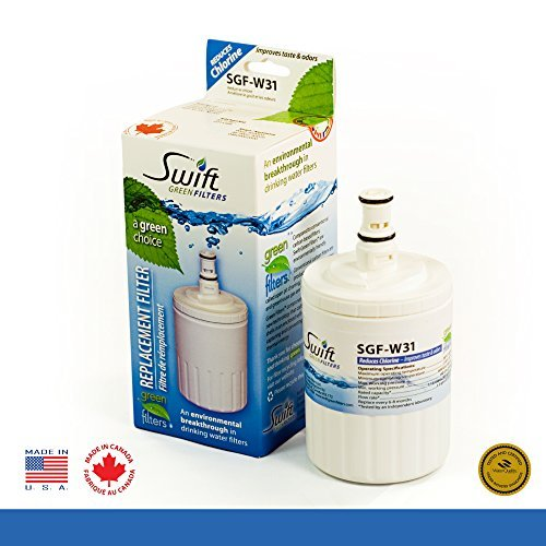 Swift Green Whirlpool replacement water filter 8171413R, ...