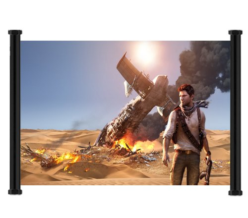 Uncharted 3 Drake's Deception Game Fabric Wall Scroll Poster