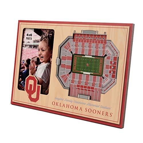 NCAA Oklahoma Sooners 3D StadiumViews Picture Frame - Oklahoma Sooners Photo