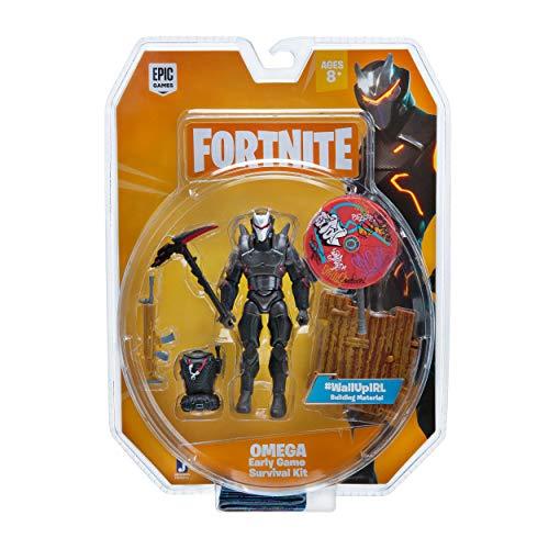 Fortnite Early Game Survival Kit Figure Pack, Omega from Fortnite