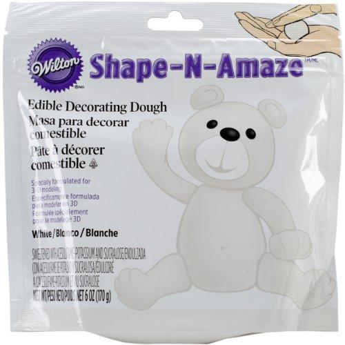 UPC 070896141590, Wilton 707-159 Shape-N-Amaze Edible Decorating Dough, White