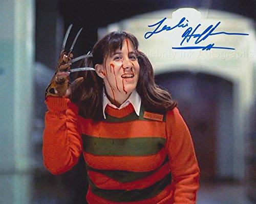 LESLIE HOFFMAN – Stuntwoman – A Nightmare On Elm Street GENUINE AUTOGRAPH