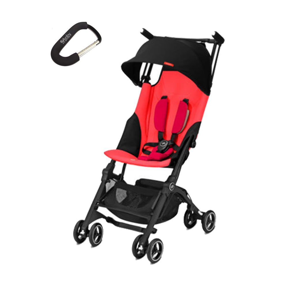 2018 GB Pockit + Plus Stroller w/Cybex Car Seat Adapter ...