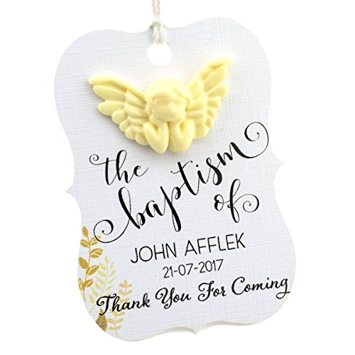 Summer-Ray 48 Little Violin Personalized Baptism Party Favor