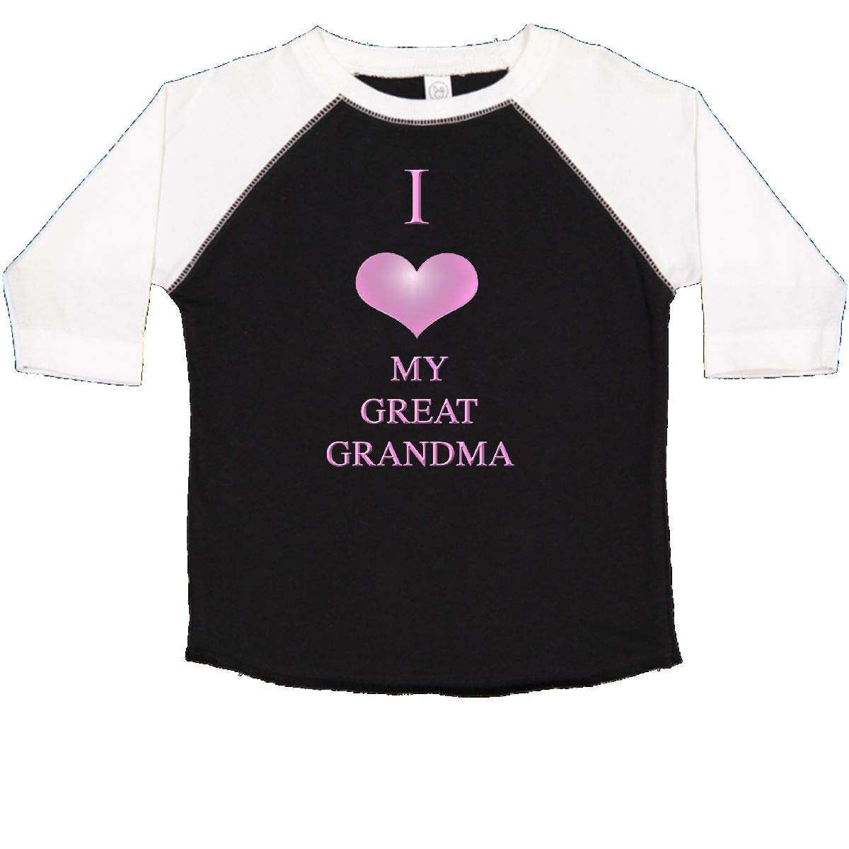 inktastic I Love My Great Grandma Toddler T-Shirt