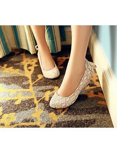 maßgeschneiderte Damenschuhe white Lässig Wedges Hochzeit Ballerinas Kleid amp; Schwarz Werkstoffe ShangYi Festivität Party Keilabsatz 8dwOTOq