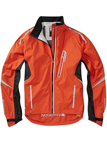 Madison Chilli Red 2015 Stellar Cycling Waterproof Jacket (L, Red) ()