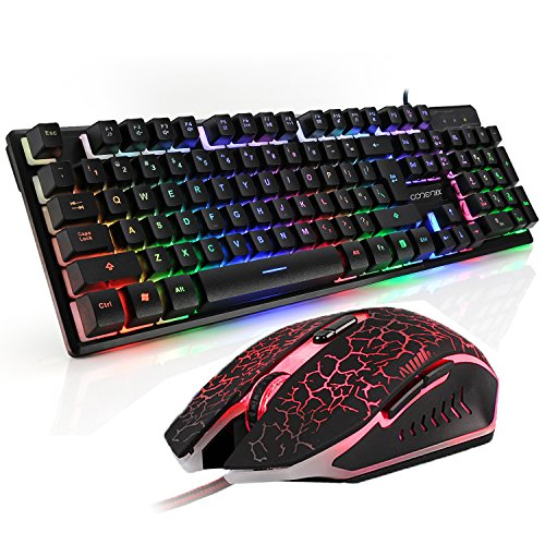 gaming-keyboard-and-mouse-combo-corerix-rainbow-color-usb-wired-keyboad-and-optical-mouse-set-for-pc