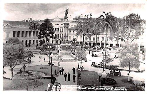 Pasque de la Independecia Quito Ecuador, Republica del Ecuador Postcard