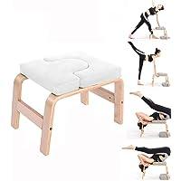 Yoga Inversion Bench Headstand Prop Ondersteboven Stoel voor Voeten omhoog en Balans Training Kernkracht Building…
