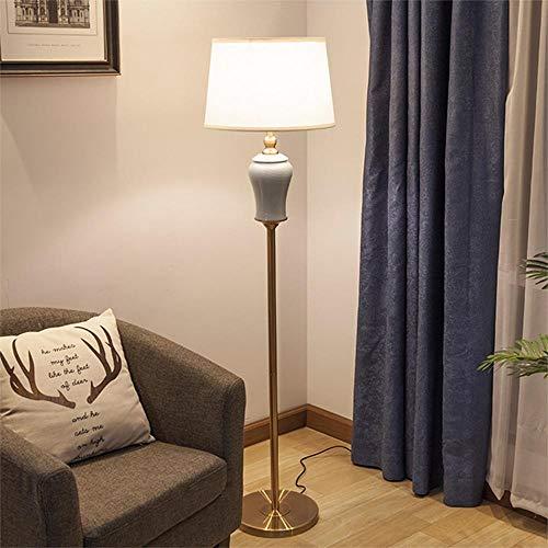 Nueva lámpara de pie de cerámica europea de estilo chino ...