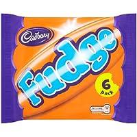 Cadbury Fudge 6 Bars (7 packs of Fudge 6 pack multipack, Total 42 Bars)