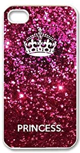 Cute Pink Keep Calm Princess Crown iPhone 6 (4.7 inch) Case Cover New Design hjbrhga1544