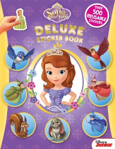 Disney Sofia the First Deluxe Sticker Book