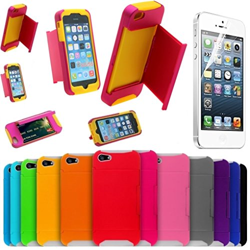 iphone-5-case-iphone-5-wallet-case-shatterproof-anti-slip-drop-resistant-shock-absorbent-dual-layer-