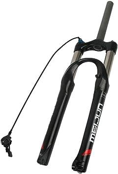 Horquilla de Bicicleta MTB 26 27.5 29 Inch Ultraligero Aluminum Alloy Control Remoto Mountain Bike Horquilla de Suspensión Recorrido: 80 mm: Amazon.es: Deportes y aire libre