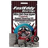 OFNA Nitro Dirt Oval Hyper Sprint Ceramic Rubber Sealed Ball Bearing Kit for RC Cars