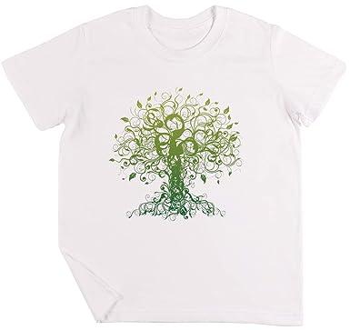 Meditar, Meditación, Espiritual Árbol Yoga Camiseta Niños ...