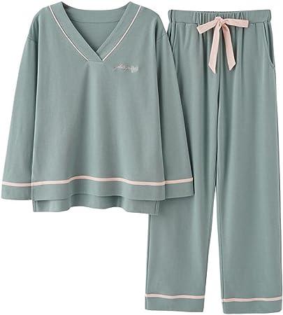 Gbrand Pijamas para Mujer, Conjunto de Pijamas de algodón ...