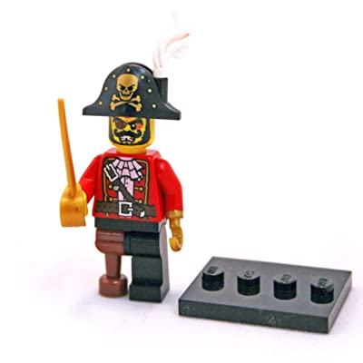 LEGO Minifigure Series 8 Pirate Captain (8833): Toys & Games