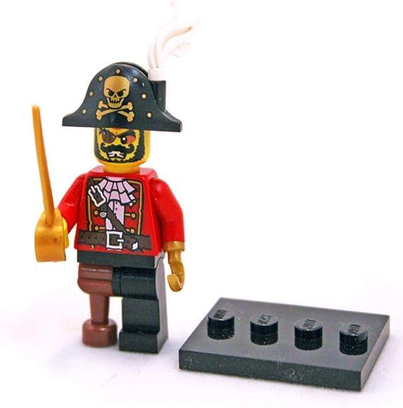 NEW LEGO PIRATE CAPTAIN /& FAMILY MINIFIG LOT treasure minifigure figures boat