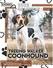 Treeing Walker Coonhound Calendar 2022: Gifts for Friends and Family with 18-month Monthly Calendar in 8.5x11 inch