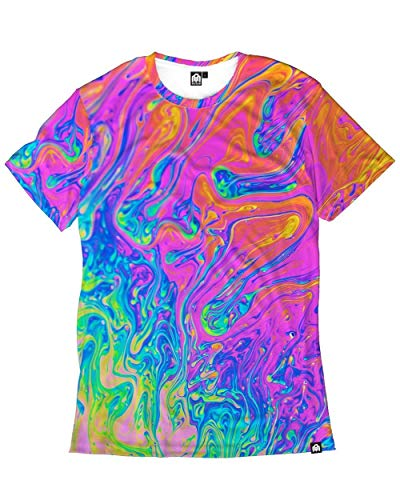 INTO THE AM Liquified Men's Casual Tee Shirt (X-Large) from INTO THE AM