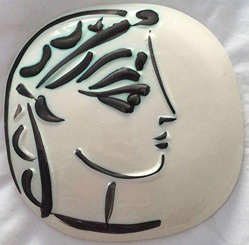 Picasso Madoura Ceramic Ramie 383 Profil De Jacqueline ()