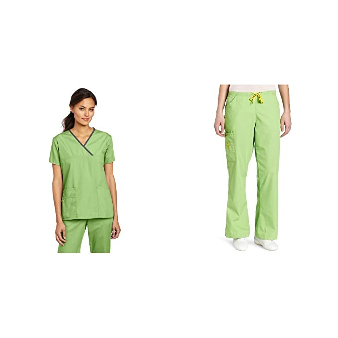 Amazon.com: WonderWink Charlie Uniformes médicos de 5 ...