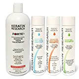 forte blow dryer - Keratin Forte Keratin Brazilian Keratin Hair Blowout Treatment Extra Strength Enhanced Formula 4 Bottles 1000ml Kit By Keratin Research Queratina Keratina Brasilera Tratamiento Forte