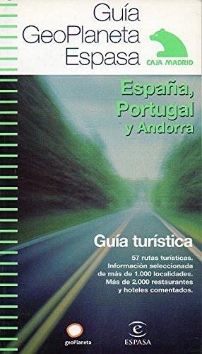 GUÍA GEOPLANETA DE ESPAÑA, PORTUGAL Y ANDORRA. Guía Turística.: Amazon.es: GeoPlaneta.: Libros