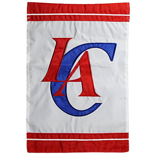 Los Angeles Clippers Merchandise (NBA Los Angeles Clippers 12.5'' x 18'' Two-Sided Garden Flag)