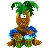 Palm Tree Petey Animated Plush Top Quality Bongo Banging & Singing Stuffed Animal