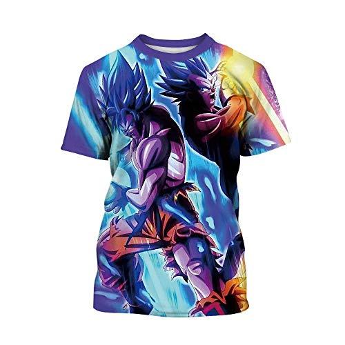 (Dragon Ball Shirt Kids Boys Girls 3D Print Cartoon Casual Pullover Tops)