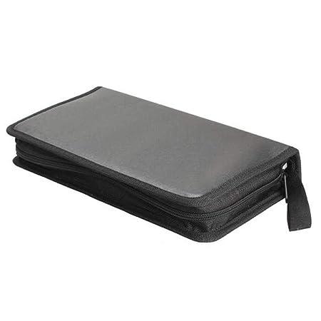 InisIE Carpeta Portable VCD CD DVD Caja de la Carpeta de ...