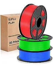 PLA+ Filament 1.75mm, SUNLU PLA plus Filament 1.75 1kg for 3D Printer 3D pen