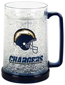 Amazon Com San Diego Chargers 16oz Crystal Freezer Mug