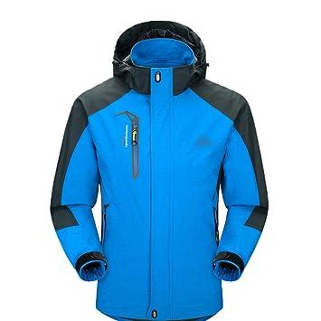 SJZC Chaqueta Impermeable Face The Cortavientos Abrigo Hombres Cazadora Invierno Jacket Chaquetas Abrigos017: Amazon.es: Deportes y aire libre