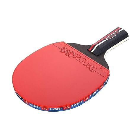 YUYAXQP PortátilPala Tenis De Mesa Ideal para Principiantes Y ...