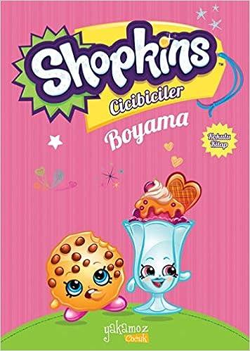 Shopkins Cicibiciler Boyama Açık Pembe Kokulu Kitap Yakamoz