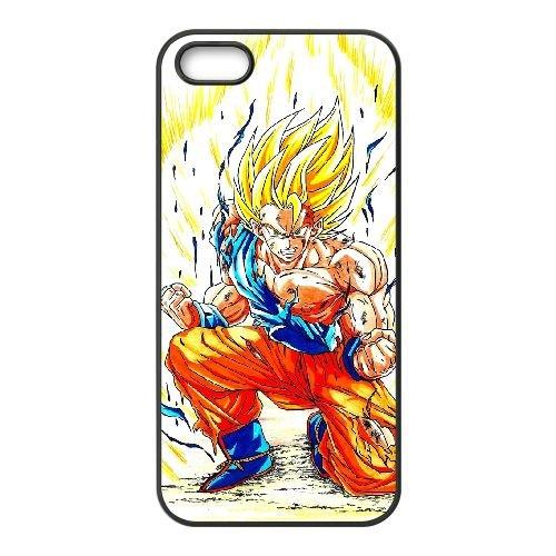 Dragon Ball Goku MM34VD5 coque iPhone 5 5s cellulaire cas de téléphone Q4HC2X5AS Coque