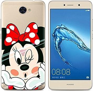 PREVOA Colorful Silicona TPU Funda Case Protictive para Huawei Y7 ...