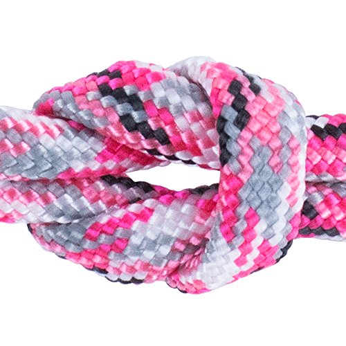 (West Coast Paracord - Paracord/Parachute Cord 7 Strand Type III 550 lb. Break Strength Made by US Government Contractors, 550 Survival Cord, Made in USA Basic Pink Camo, 100 Feet)