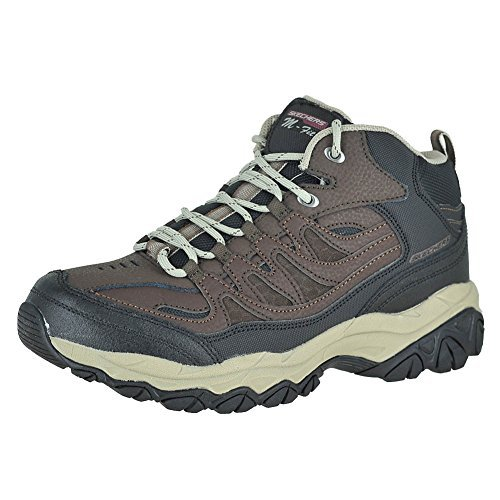 Skechers After Burn Memory Fit - Geardo Brown/Black Mens Boot Size 14M