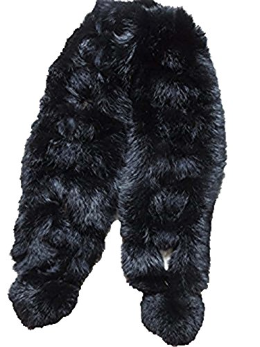 Real Rabbit Fur Scarf Warm Wearing Convenient Multiple for sale  Delivered anywhere in USA
