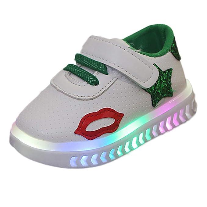 7990afd3c6b804 SuperSU Herbst Kind SportSchuhe Baby Kleinkind Schuhe 1-6 Jahre Unisex Baby  Junge Mädchen Sport Running LED Leuchtende Schuhe mit Licht LED Leuchtende  ...