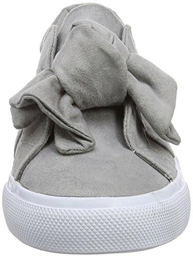 Sneaker Mid Look 4 Grigio Donna Grey Mowance New ZHUSqxp