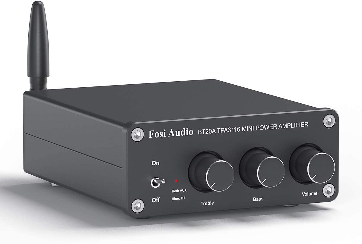 FOSI BT20A Bluetooth 5.0 Stereo Audio 2 Channel Amplifier